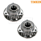 TKSHS00650-Saab 9-5 Wheel Bearing & Hub Assembly Front Pair  Timken 513192