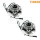TKSHS00652-Chrysler Aspen Dodge Durango Wheel Bearing & Hub Assembly Front Pair