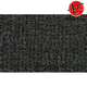 ZAICF02622-1990-95 GMC Safari Passenger Area Extended Carpet 7701-Graphite