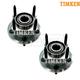 TKSHS00693-Jeep Wheel Bearing & Hub Assembly Rear Pair