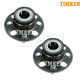 TKSHS00697-Honda FIT Insight Wheel Bearing & Hub Assembly Rear Pair Timken  512323