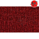 ZAICK04671-1983-93 Ford Mustang Complete Carpet 4305-Oxblood