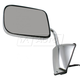 1AMRE01632-1988-93 Dodge Mirror Driver Side Chrome