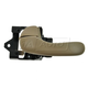 1ADHI00722-Chevy Impala Monte Carlo Interior Door Handle Driver Side Oak