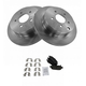 1ABFS00464-Brake Pad & Rotor Kit Rear