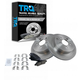 1ABFS00465-Brake Pad & Rotor Kit Rear