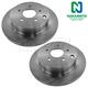 1ABFS00463-Brake Rotor Rear Pair  Nakamoto 31348
