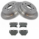 1ABFS00473-Brake Pad & Rotor Kit Rear