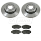 1ABFS00486-Land Rover Range Rover Brake Kit Front