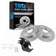 1ABFS00424-Brake Pad & Rotor Kit Rear