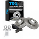 1ABFS00430-Brake Pad & Rotor Kit Rear