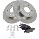 1ABFS00435-Brake Pad & Rotor Kit Rear