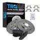 1ABFS00416-Brake Kit Rear  Nakamoto CD806  XR858224