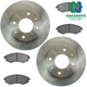 1ABFS00583-Hyundai Elantra Tiburon Brake Kit Front  Nakamoto MD700  31320