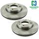 1ABFS00581-Brake Rotor Front Pair  Nakamoto 31320