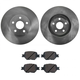 1ABFS00566-Scion tC Toyota Celica Brake Pad & Rotor Kit Front