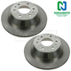 1ABFS00551-Brake Rotor Rear Pair  Nakamoto 55073