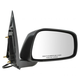 1AMRE01707-Mirror Passenger Side Black