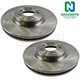 1ABFS00528-Mercedes Benz Brake Rotor Front Pair