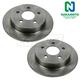 1ABFS00539-Brake Rotor Rear Pair