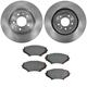 1ABFS00512-Mazda RX-8 Brake Kit