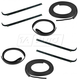 1AWSS00147-Ford Door Weatherstrip Seal Kit