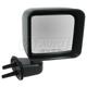 1AMRE01891-2007-10 Jeep Wrangler Mirror Passenger Side Black