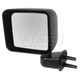 1AMRE01890-2007-10 Jeep Wrangler Mirror Driver Side