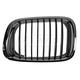 1ABGR00326-BMW Grille Driver Side Chrome & Black