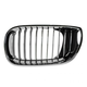 1ABGR00322-2002-05 BMW Grille Driver Side All Chrome