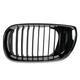 1ABGR00320-2002-05 BMW Grille Driver Side Chrome & Black
