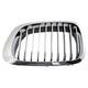 1ABGR00330-BMW Grille Driver Side All Chrome