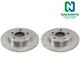 1ABFS00228-Brake Rotor Rear Pair