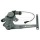 1AWRG01124-2000-06 Nissan Sentra Window Regulator Driver Side Rear