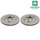 1ABFS00237-Brake Rotor Rear Pair Nakamoto XR858224