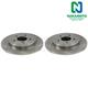 1ABFS00241-Brake Rotor Pair