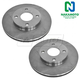 1ABFS00259-2000-04 Ford Focus Brake Rotor Pair
