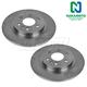 1ABFS00275-Brake Rotor Rear Pair  Nakamoto 10377634