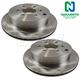 1ABFS00290-Brake Rotor Rear Pair  Nakamoto 43206-EA010