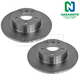 1ABFS00209-Land Rover Brake Rotor Rear Pair  Nakamoto 34250