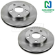 1ABFS00202-Toyota Camry Brake Rotor Front Pair