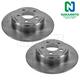 1ABFS00217-Brake Rotor Rear Pair  Nakamoto 4779208AB
