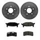 1ABCK00004-Brake Pad & Rotor Kit