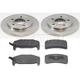 1ABCK00003-Brake Pad & Rotor Kit