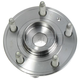 MCSHF00010-Wheel Bearing & Hub Assembly  Motorcraft HUB68