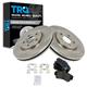 1ABFS00369-Brake Pad & Rotor Kit