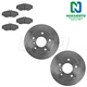 1ABFS00367-Land Rover Discovery Brake Kit