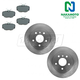 1ABFS00363-Land Rover Brake Kit Rear  Nakamoto MD493  SDB000470