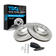1ABFS00380-2004-08 Chrysler Pacifica Brake Pad & Rotor Kit Front