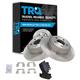 1ABFS00382-Brake Pad & Rotor Kit Rear